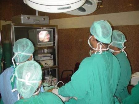 برداشتن سنگ با جراحی